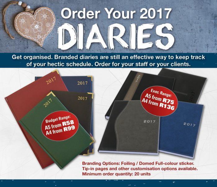 2017 Diaries
